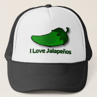 I Love Jalapenos Trucker Hat