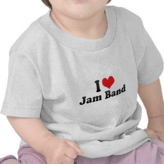 I Love Jam Band Shirt