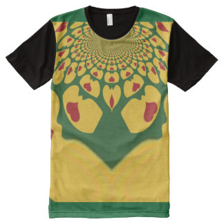 I Love Jamaica All-Over Print T-Shirt