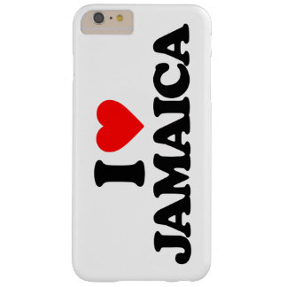 I LOVE JAMAICA BARELY THERE iPhone 6 PLUS CASE