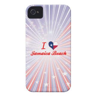 I Love Jamaica Beach Texas iPhone 4 Case-Mate Case