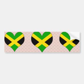 I Love Jamaica Bumper Sticker
