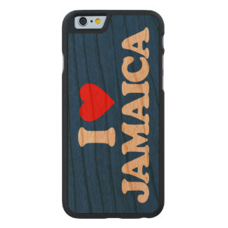 I LOVE JAMAICA CARVED® CHERRY iPhone 6 CASE