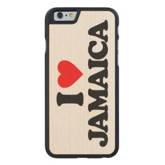 I LOVE JAMAICA CARVED® MAPLE iPhone 6 CASE
