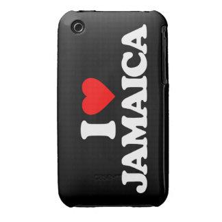 I LOVE JAMAICA iPhone 3 Case-Mate CASE