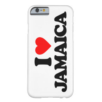 I LOVE JAMAICA BARELY THERE iPhone 6 CASE