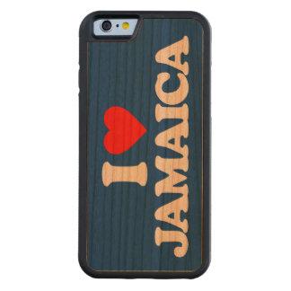 I LOVE JAMAICA CHERRY iPhone 6 BUMPER CASE