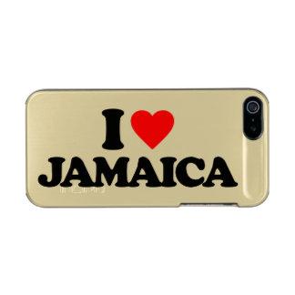 I LOVE JAMAICA INCIPIO FEATHER® SHINE iPhone 5 CASE