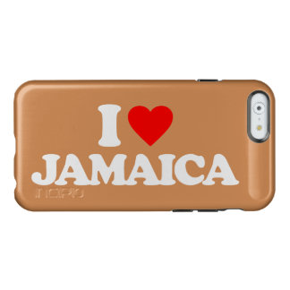 I LOVE JAMAICA INCIPIO FEATHER® SHINE iPhone 6 CASE