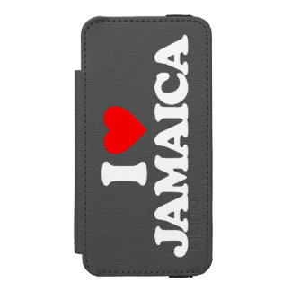 I LOVE JAMAICA INCIPIO WATSON™ iPhone 5 WALLET CASE