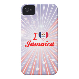 I Love Jamaica, Iowa iPhone 4 Case-Mate Case