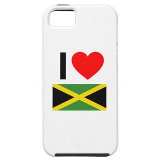 i love jamaica iPhone 5 cases