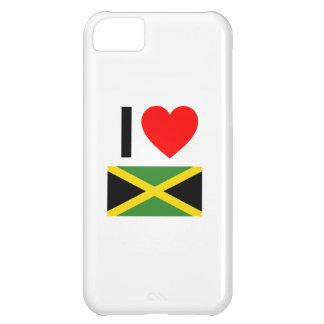 i love jamaica iPhone 5C case