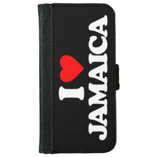 I LOVE JAMAICA iPhone 6 WALLET CASE