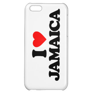 I LOVE JAMAICA COVER FOR iPhone 5C