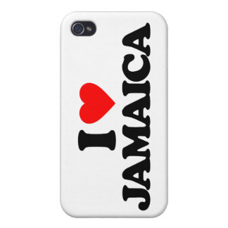 I LOVE JAMAICA CASES FOR iPhone 4