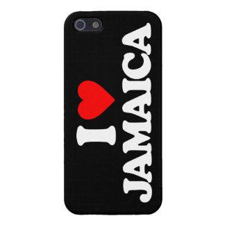 I LOVE JAMAICA iPhone 5/5S CASE