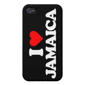 I LOVE JAMAICA iPhone 4/4S CASES