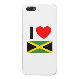 i love jamaica iPhone 5/5S covers
