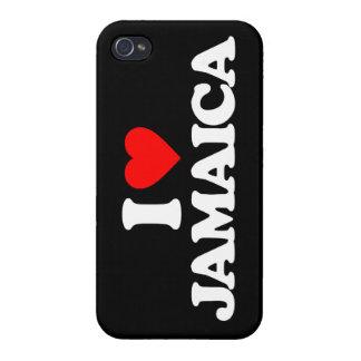 I LOVE JAMAICA iPhone 4/4S COVERS