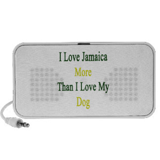 I Love Jamaica More Than I Love My Dog PC Speakers