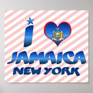 I love Jamaica New York Posters