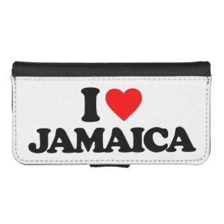 I LOVE JAMAICA iPhone 5 WALLET CASES