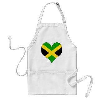 I Love Jamaica Standard Apron