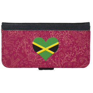 I Love Jamaica iPhone 6 Wallet Case