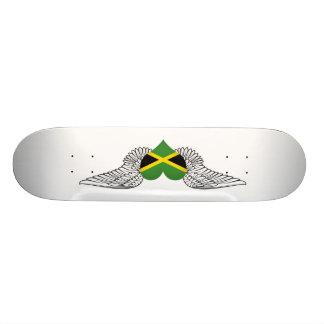 I Love Jamaica -wings Skate Deck