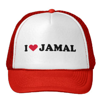 I LOVE JAMAL HATS