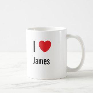 I love James Coffee Mug