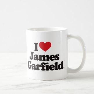 I Love James Garfield Coffee Mug