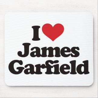 I Love James Garfield Mousepad