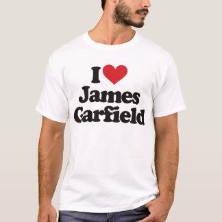I Love James Garfield T-Shirt