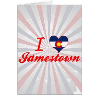 I Love Jamestown, Colorado Greeting Cards