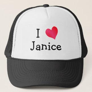 I Love Janice Trucker Hat