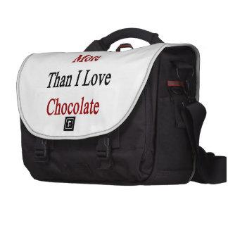 I Love Japan More Than I Love Chocolate Laptop Bag