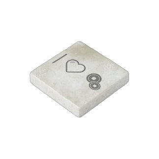 I Love Japan Stone Magnet