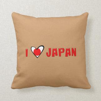 I Love Japan Throw Cushions