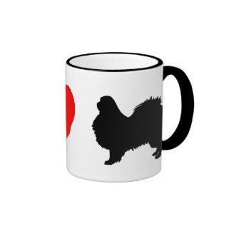 I Love Japanese Chins Mug