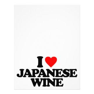 I LOVE JAPANESE WINE FLYER