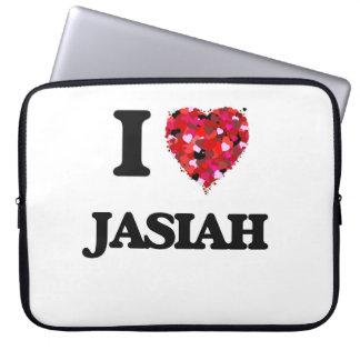 I Love Jasiah Computer Sleeves