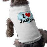 I love Jaslyn Dog Shirt