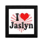 I love Jaslyn Keepsake Box