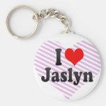 I love Jaslyn Key Chain