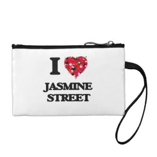 I love Jasmine Street Florida Coin Wallet