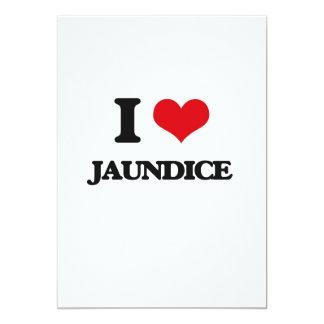 "I Love Jaundice 5"" X 7"" Invitation Card"