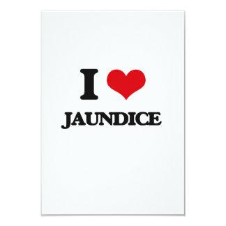 "I Love Jaundice 3.5"" X 5"" Invitation Card"