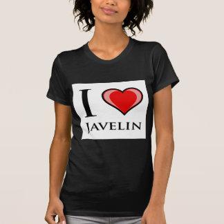 I Love Javelin T Shirts
